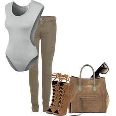 A fashion look from August 2015 featuring 7 For All Mankind pants, Giuseppe Zanotti ankle booties and CÉLINE handbags. Browse and shop related looks.