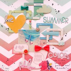 summer colors - Scrapbook.com