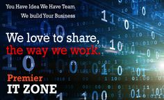 We love to share the way we work . . . . . . . . . . . . #SEO #WebDesign #WebDevelopment #Marketing #ITCompany http://www.premieritzone.com
