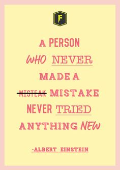 ~~ Fyooz Motivating Mondays ~~  A quote to start off the first Monday of 2015 ! Its ok if you made mistakes in the past year.. 2015 will be a great year to start afresh, equipped with all the new things you have learnt from 2014 !  #quote #newyear #2015 #okaytomakemistakes #fyoozstudio #fmm