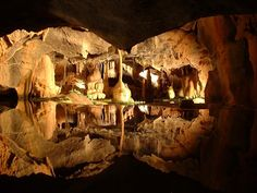 The Cheddar Caves, England