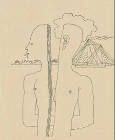 Maison de Santé, 1926, by Jean Cocteau