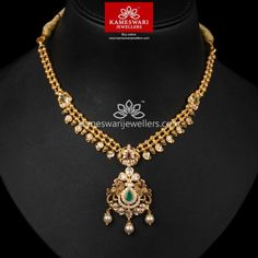 Gold Necklace for Women Online Light Weight Gold Jewellery, Gold Jewelry Simple, Simple Necklace, Pearl Necklace Designs, Gold Jewellery Design, Necklace Online, Gold Necklaces, Gold Bangles, Jewels