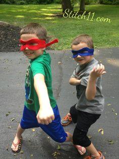 Ninja Turtle Mask - Free Pattern!