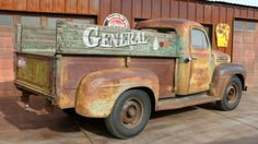 Sun Baked 1952 Ford F3 Truck