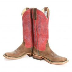 BootDaddy Collection with Anderson Bean Rough Rider Cowgirl Boots
