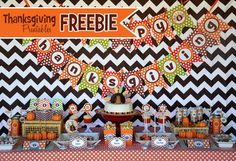 Amanda's Parties TO GO: FREE Thanksgiving Printables!