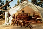 I want to stay in a fancy tent and pretend to be Dothraki royalty.