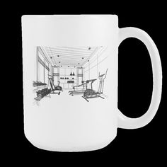 Hit The Gym Coffee Mug
