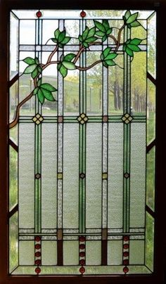 Tiffany stained glass window panels 20