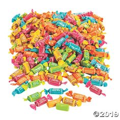 Fruity candy in bulk? This huge pack of Tootsie Roll Fruit Midgees is perfect for filling your biggest candy needs: Easter egg hunts, Halloween . 80s Birthday Parties, Fruit Chews, All Candy, Classic Candy, Fruit Roll, Oriental Trading, Egg Hunt, Candy Recipes, Nut Free
