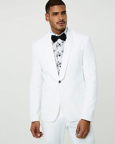 Linen Blend Contemporary Fit Blazer - This dapper one-button blazer topped with a shawl collar is lightly structured in a cool, breathable blend of linen and cotton. Blazer Buttons, Dapper, Suit Jacket, Contemporary, Long Sleeve, Fitness, Sleeves, Cotton, Jackets