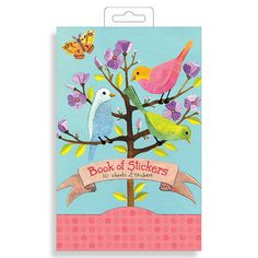 Avian Friends Book Of Stickers by Galison | Fox and Star