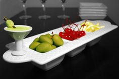 Nora Fleming platters and minis!  The BEST serving dishes ever!