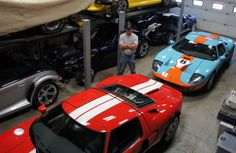 Canadian collector uncovers 40 collectible cars from the Big Three, including Ford GTs, Mustangs and Corvettes.