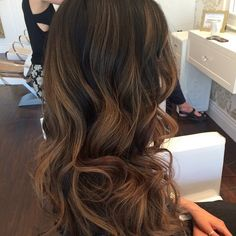 Vanessa | ashy brown ombre | ashy ombre | dark hair balyage Hair by: Britnee Zabaras