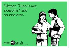 Nathan Fillion is the man.
