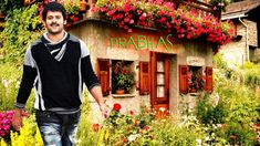 Actor Prabhas With Flower Looking Handsome Wallpaper Wallpaper Photo Hd, Wallpaper Please, Free Desktop Wallpaper, Wallpaper Downloads, Cool Wallpaper, Mobile Wallpaper, Hd Widescreen Wallpapers, Hd Wallpapers For Mobile, Latest Hd Wallpapers