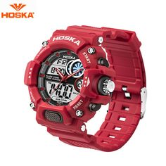 New Fashion Kids Boy Sports Wristwatches Bracelet Led Gigital Display Silicone Clock Children Electronic Watch Enfants Dropship Pure And Mild Flavor Children's Watches