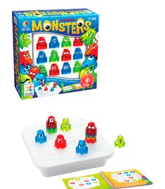 Cannibal Monsters, Solo Puzzle Game.