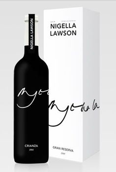 #wine #packaging Nigella Lawson