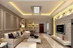 6 Incredible Tips: False Ceiling Bedroom Tips false ceiling living room with tv unit.False Ceiling Living Room L Shape false ceiling bedroom feature walls.False Ceiling For Hall Design. False Ceiling Design, Ceiling Design Living Room, False Ceiling Living Room, Living Room Designs, Living Room Decor, Living Rooms, Style Salon, Elegant Living Room, Contemporary Home Decor
