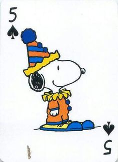 Snoopy! Finally a clown that doesn't scare!