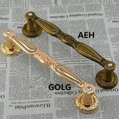 128.25$  Buy now - http://alib1w.worldwells.pw/go.php?t=32267664774 - 300mm Wooden,Glass Door Pull Gold Crystal top Quality Door Handle Antique brass diamond Home Ktv Hotel Big Gate Door Pull Handle 128.25$