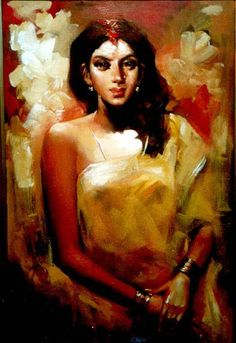 Indian Art | Oil Painting – A Collection of # 52 Canvas Designs