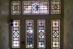 Old stained glass door 50 ideas for 2019 Stained Glass Door, Stained Glass Designs, Stained Glass Projects, Stained Glass Patterns, Leaded Glass, Mosaic Glass, Victorian Stained Glass Panels, Victorian Front Doors, Victorian Hallway
