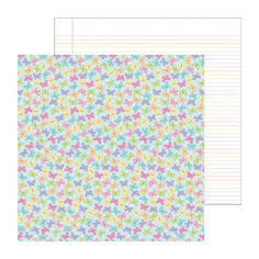 Doodlebug Design - Hello Spring Collection - 12 x 12 Double Sided Paper - Baby Butterflies at Scrapbook.com $1.09