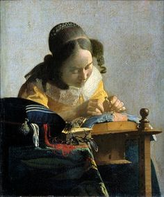 Johannes Vermeer. - The Lacemaker, c. 1658-1660. Photograph: Leemage/Corbis via Getty Images