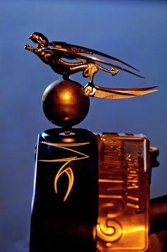 """Gargoyle Hood Ornament""..."