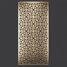 Laser Cut Panels, 3d Panels, Cnc Cutting Design, Laser Cutting, Metal Lattice, Kitchen Room Design, Wooden Stairs, Wall Molding, Decorative Panels
