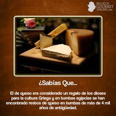 ¿#SabíasQueEl de queso era considerado un regalo de los dioses para la cultura Griega?