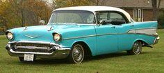 57 Chevy Bel Air: Grandpa's car. :-)