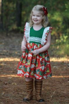 96 Best Christmas Clothes Images Girls Christmas Dresses
