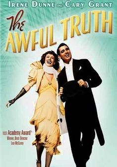 The Awful Truth (1937) This captivating screwball comedy stars Cary Grant and Irene Dunne as Jerry and Lucy Warriner, a married couple who mistakenly suspect each other of infidelity and file for divorce -- but then go to ridiculous lengths to make each other jealous. Ralph Bellamy is hilarious as Dunne's new suitor, Grant and Dunne have rarely been better, and a scene-stealing pooch provides some hearty laughs. Leo McCarey won an Oscar for his sprightly direction.