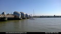 To be honest this picture does not do the Thames Barrier justice as it more reminds me of a large futuristic looking structure.  #london #tourism #placestotakethekids #thingstodowithkids #parents #kids