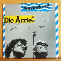 DIE ÄRZTE Westerland Vinyl EP (Kommerzmix + Live-Version + Extended Ganja) RARE