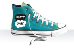 """These Converse sneakers.   31 Incredible Etsy Products For """"The Fault In Our Stars"""" Fans"""