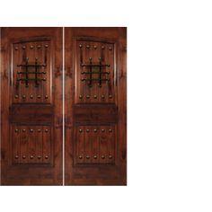 PH Door Décor! Speakeasy\'s, clavos, rustic door hinges, Exterior ...