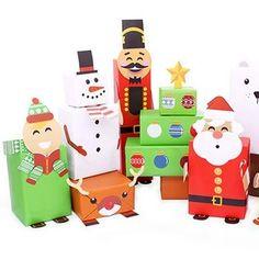 Christmas Present Wrap Pack Christmas Present Wrap, Christmas Gift Box, Handmade Christmas Gifts, Personalized Christmas Gifts, Christmas Gift Wrapping, Christmas Presents, Christmas Holidays, Handmade Gifts, Christmas Traditions