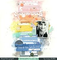 Hip Kit Club DT Project - 2018 June Hip Kits; Pinkfresh Studio Simple & Sweet collection; Vicki Boutin stamps; Shimmerz Paints