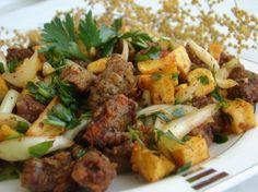 Arnavut Ciğeri Tavuk tarifleri – The Most Practical and Easy Recipes Turkish Kitchen, Appetisers, Recipies, Good Food, Beef, Cooking, Breakfast, Ethnic Recipes, Essen