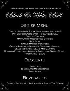 Formal Dinner Invitation is luxury invitation template