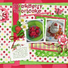 Last additions - Strawberry Shortcake - ScrapBird Gallery