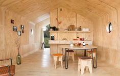 Wikkelhouse is a Special Little House, Made Out of Cardboard