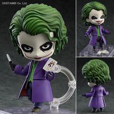 Batman Action Figure Nendoroid Joker Figures 100mm Nendoroid 566# Bat-man Model Toys Movie The Dark Knight Rises