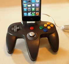 pascal leroi: Nintendo 64 iPhone and iPod Dock #Lockerz